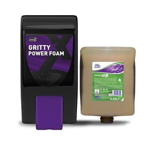 GrittyFOAM Dispenser CODE: GPF3LWHI