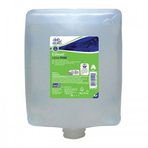 Estesol Lotion PURE 4Ltr cartridge CODE: PUW4LTR