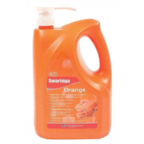 Swarfega Orange 4Ltr Pumps CODE: SOR4LMP