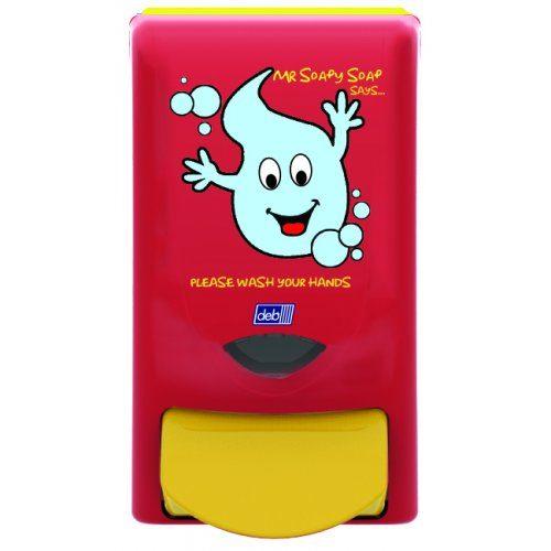 Deb Mr Soapy Soap 1Ltr Dispenser CODE: SSD01P