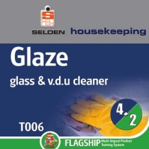 Glaze Window Cleaner 750ml Trigger CODE: T06