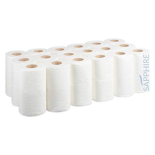 2 Ply White Soft Toilet Rolls CODE: TR10