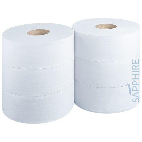 Premium 2 Ply Jumbo Toilet Rolls CODE: TR6