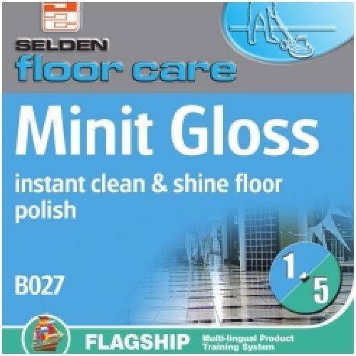 Minit Gloss Floor Polish 5Ltr CODE: B027