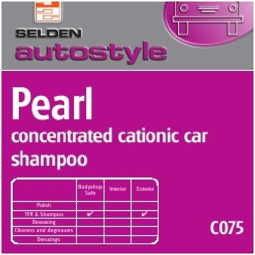 Cationic Car Shampoo 5Ltrs CODE: C075