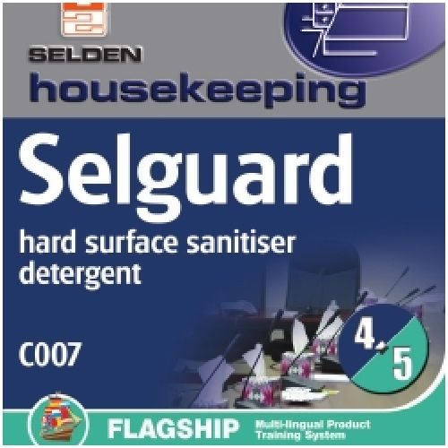 Selguard Hard Surface Sanitiser 5Ltr CODE: C07