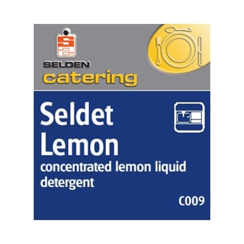 Lemon Washing Up Liquid 1Ltr CODE: CHM03