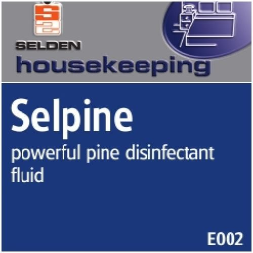 Selpine Pine Disinfectant 5Ltr CODE: CHM09