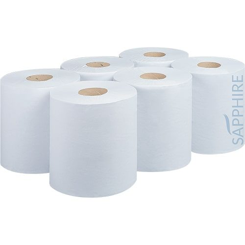 1 Ply White 300m Centre Pull Rolls – CODE: CP2