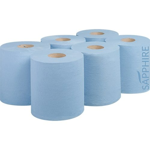 2 Ply Blue 180m Centre Pull Rolls CODE: CP8