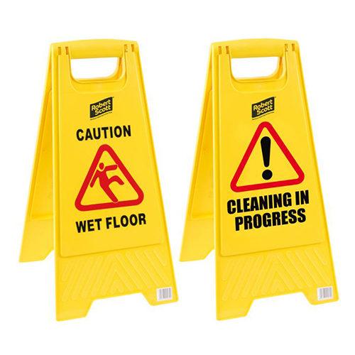 Yellow Warning Sign/Wet Floor CODE: EQU18