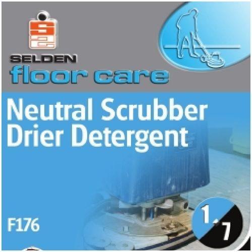 Neutral Scrubber Drier Detergent 5Ltr CODE: F176