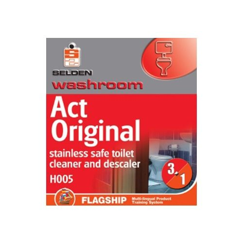 ACT S/Steel Safe Toilet Cleaner 1Ltr CODE: H05