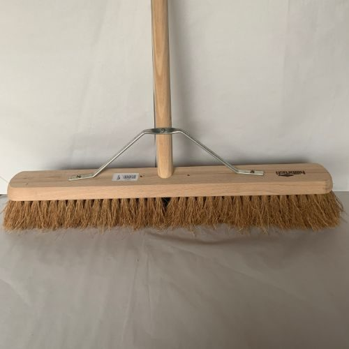 24″ Natural Coco Platform Broom CODE: H4/5FHS