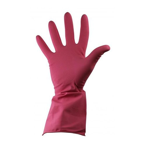 Rubber Gloves Pink CODE: MIS74P