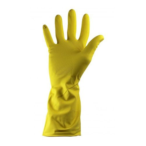 Rubber Gloves Yellow CODE: MIS74Y