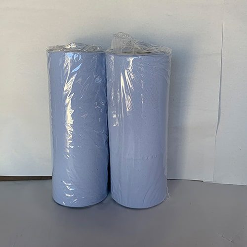 40m 2 Ply Blue Couch Rolls CODE: MW6