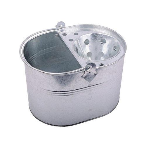 13Ltr Galvanised Bucket & Wringer CODE: OBWR03