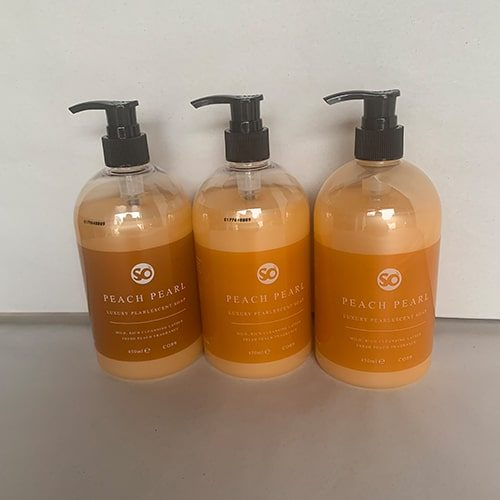 Peach Pearl Liquid Hand Soap CODE: S450/P