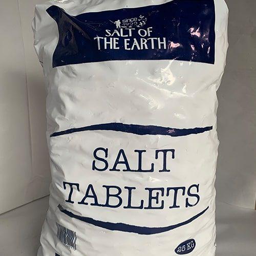 Salt Tablets 25kg CODE: ST/25