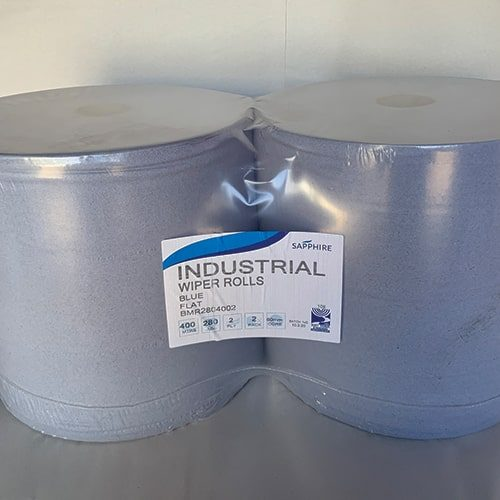 2 Ply Blue Industrial Wiper Roll CODE: WR19