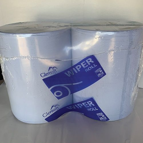 2 Ply Blue Industrial Wiper Roll CODE: WR36