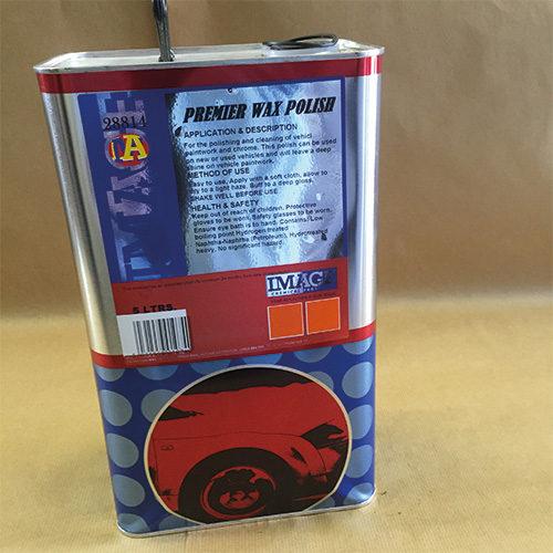 Premier Wax Polish 5Ltr CODE: PJS49