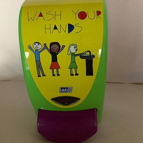 Wash Your Hands CODE: PROL1SCH