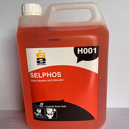 Sephos – Acidic Toilet & Washroom Cleaner CODE: H001