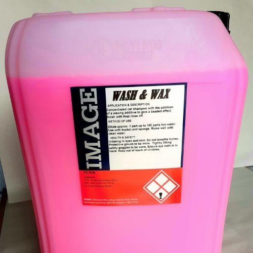 Wash & Wax 25 Ltr CODE: PJS79
