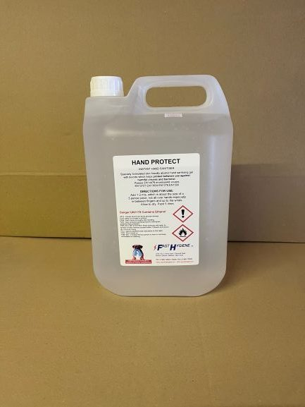 Instant Hand Sanitiser Gel 5Ltr CODE: CHM53