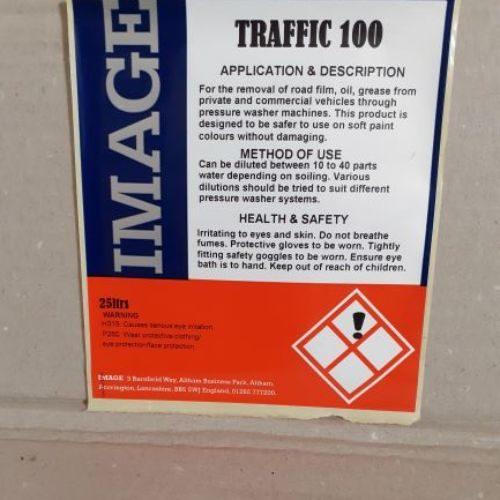 Traffic100 Traffic Film Remover 25L CODE: PJS66