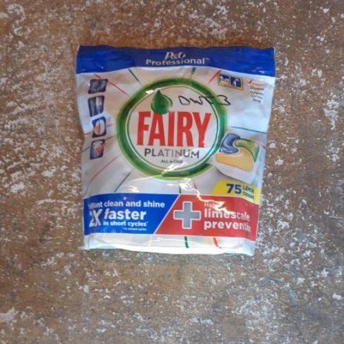 Fairy Platinum Dishwasher Tablets CODE: DWT3